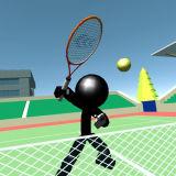 Игра Стикмен Теннис 3Д