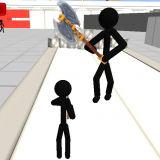 Игра Стикмен 3Д: Пистолетный Шутер