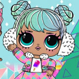 Куклы Лол: Зимнее Диско