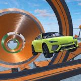 Игра Сумасшедшие Трюки На Автомобилях в Глубоком Космосе
