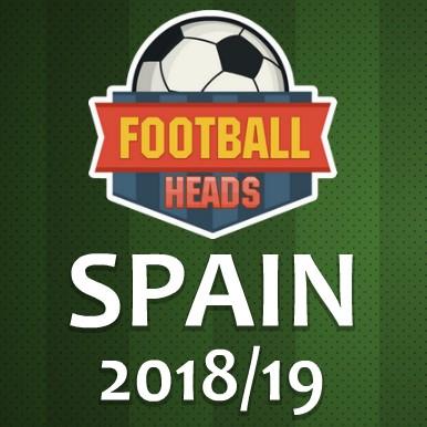 Игра футбольные головы чемпионат испании