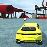Игра Сумасшедшие Автомобильные Трюки: Рождество в Раю