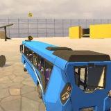 Игра Автобусы: Аварии и Трюки