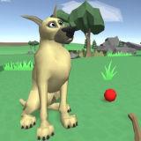 Игра Собака 3Д: Принеси Палку