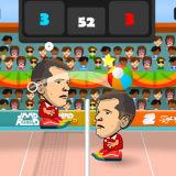 Игра Волейбольные Головы На Двоих