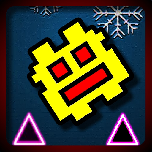 Игра Геометрия Даш: Зимний Рывок - Играть Онлайн!