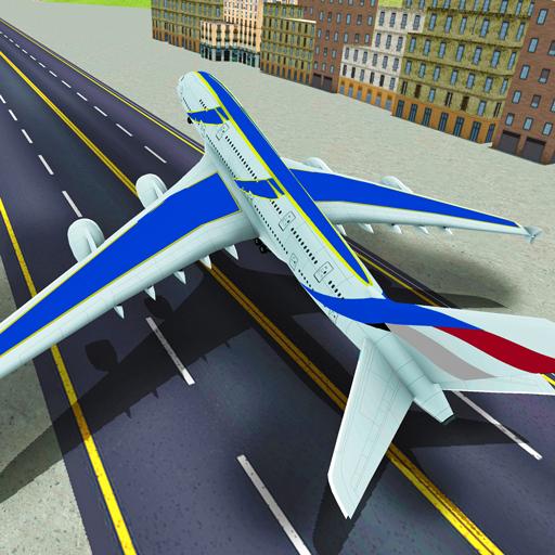 Игра Симулятор Полета Самолета - Играть Онлайн!