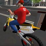 Игра Мотоциклы: Доставка Пиццы