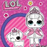 Игра Раскраска Куклы Лол: Сахарок