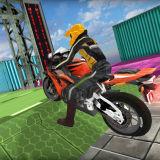 Игра Невероятные Трюки На Мотоцикле 3D