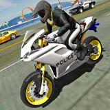 Игра Полицейский Мотоциклист: Дорожное Движение