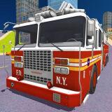 Игра Городская Пожарная Машина