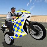 Игра Супер Трюки Полиции на Мотоциклах 3Д