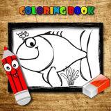 Игра Рыбки: Книга Раскрасок