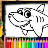 Игра Книга Раскрасок Акулы