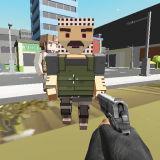 Игра Блочный Пиксель Полицейский