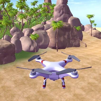 Игра Симулятор Квадрокоптера (Дрона) 3Д / Drone Game