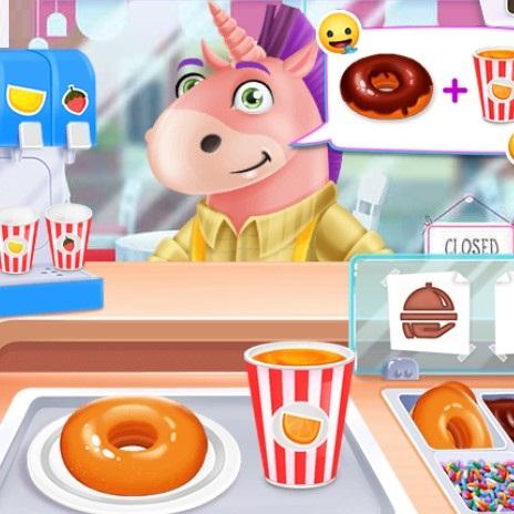 Игра Пончики Для Единорогов - Играть Онлайн!