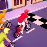 Игра Гонки с Трюками на Велосипедах