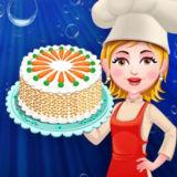 Игра Малышка Хейзел: Готовим Морковный Торт