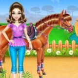 Игра Уход за Лошадью