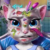 Игра Косметолог для Кошки Анжелы
