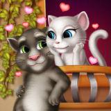 Игра Поцелуй Анжелы и Тома