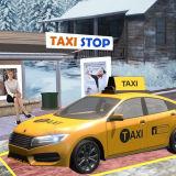 Игра Водитель Такси 3Д