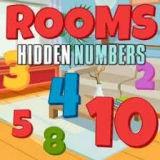 Игра Найди Спрятанные Цифры в Комнате