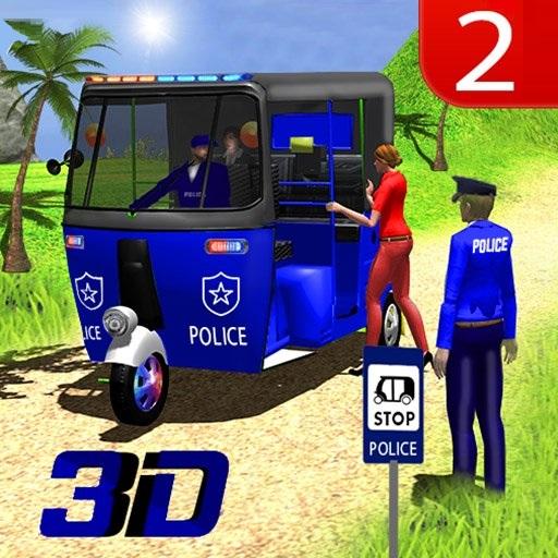 Игра Водитель Полицейской Авторикши - Играть Онлайн!
