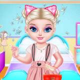 Игра Непослушная Малышка Эльза: Выходной