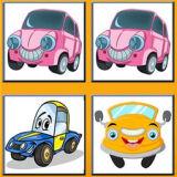 Игра Забавные Автомобили: Карточки Памяти