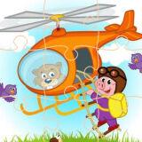 Игра Пазлы Вертолета
