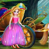 Игра Уборка в Карете Принцессы
