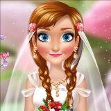 Игра Свадебный Макияж для Анны