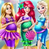Игра Одень Беременных Принцесс Диснея