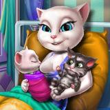 Игра Беременная Анжела Перед Родами
