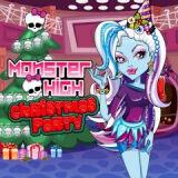 Игра Монстр Хай: Рождество
