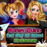Игра Первый День Харли Квин в Школе