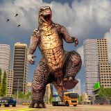 Игра Монстр Динозавр: Буйство в Городе
