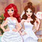 Игра Дизайн Свадебного Платья Принцессы