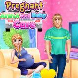 Игра Уход за Ребенком Беременной Анны