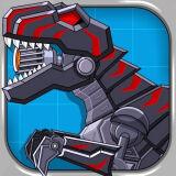 Игра Роботы Динозавры: Черный Ти-Рекс