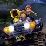 Игра Лего Мир Юрского Периода: Мотозаезд