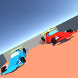 Игра Автомобильное Безумие На Двоих 3D