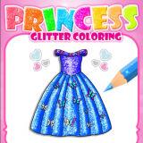 Игра Раскраски с Блестками: Принцессы