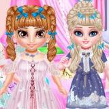 Игра Маленькая Принцесса Лолита: Стильный Макияж