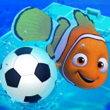 Игра Рыбный Футбол на Двоих