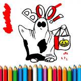 Игра Хэллоуин Книжка-Раскраска