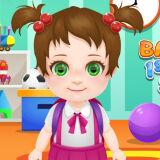 Игра Малышка Оли: Первый День в Школе